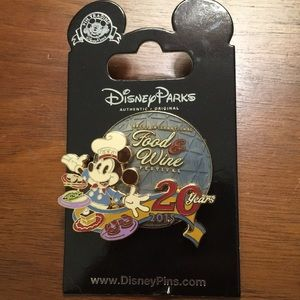 Disney 2015 Food and Wine pin